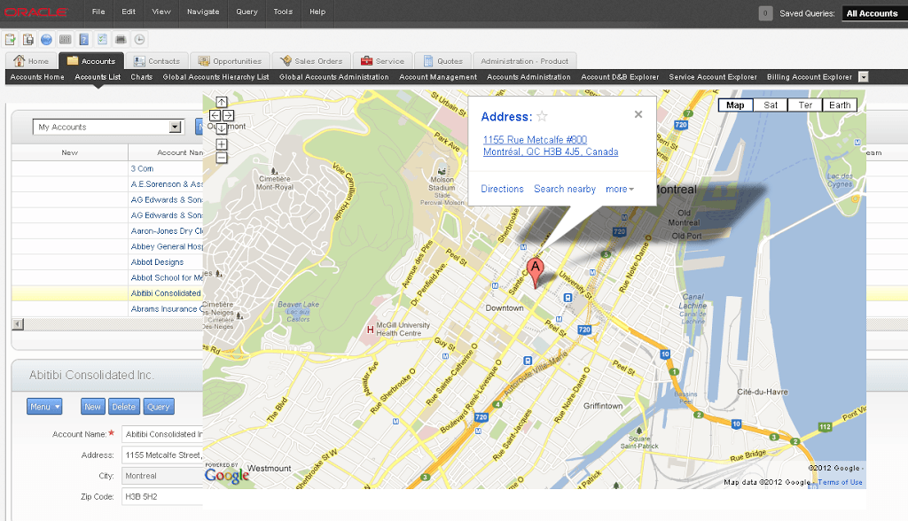 siebel open ui extensibility part 2  the google maps