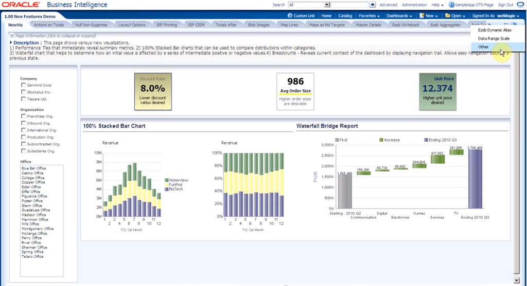 oracle bi sample app 11 1 1 7  v305  released